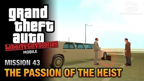 GTA Liberty City Stories Mobile - Mission 43 - The Passion of the Heist