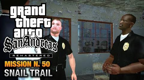 GTA San Andreas Remastered - Mission 50 - Snail Trail (Xbox 360 PS3)
