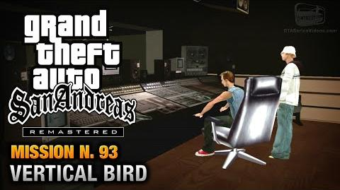 GTA San Andreas Remastered - Mission 93 - Vertical Bird (Xbox 360 PS3)