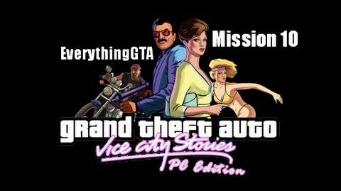 GTA Vice City Stories PC Edition Mission 10- Marked Men (Beta3)