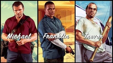 WildBrick142/Michael, Franklin and Trevor trailers
