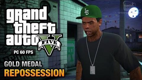 GTA 5 PC - Mission 2 - Repossession Gold Medal Guide - 1080p 60fps