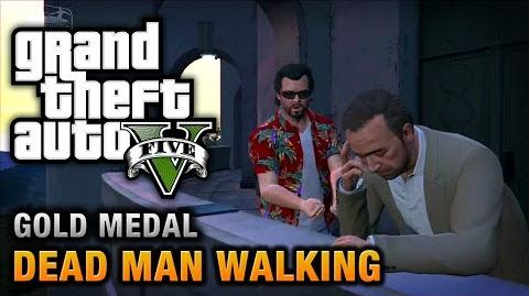 GTA 5 - Mission 23 - Dead Man Walking 100% Gold Medal Walkthrough