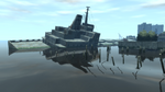 Wreck Tanker GTAIV Aft Superstructure