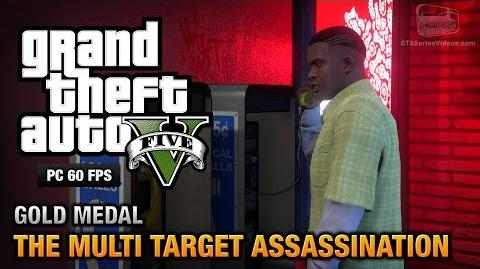 GTA 5 PC - Mission 34 - The Multi Target Assassination Gold Medal Guide - 1080p 60fps