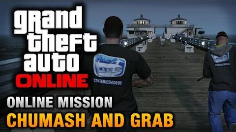 GTA Online - Mission - Chumash and Grab Hard Difficulty