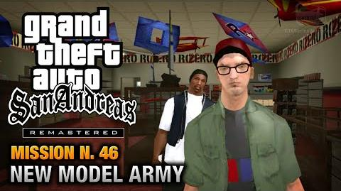 GTA San Andreas Remastered - Mission 46 - New Model Army (Xbox 360 PS3)