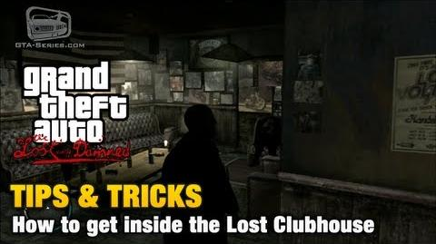 GTA The Lost and Damned - Tips & Tricks - How to get inside the Lost Clubhouse