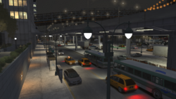 PrivateerRoad-GTAIV-Night