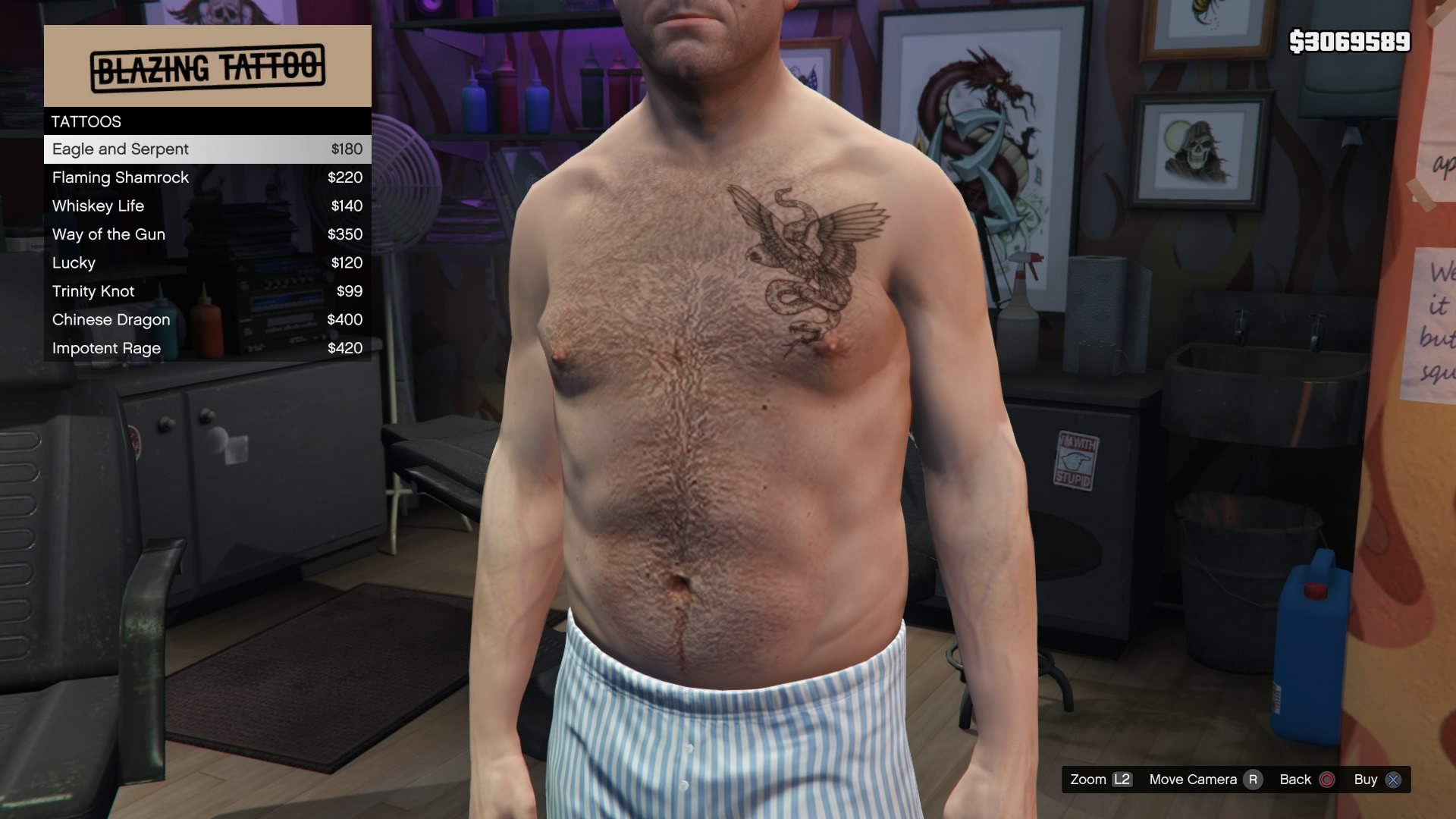 Tattoo Parlors Gta V Gta Wiki Fandom Powered By Wikia