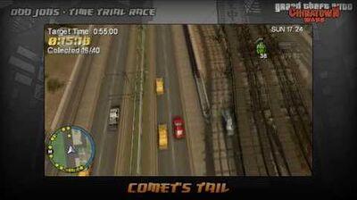 GTA Chinatown Wars - Walkthrough - Time Trial Race - Comet's Tail