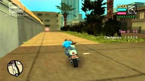 GTA Vice City Stories - Walkthrough - Playground On The Town - Checkpoint Race