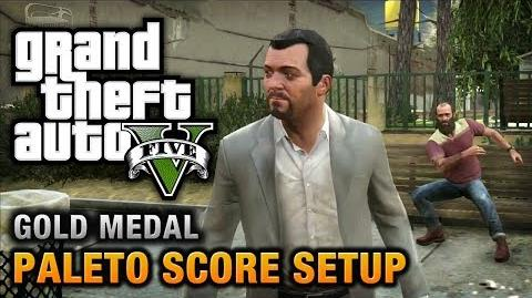 GTA 5 - Mission 49 - Paleto Score Setup 100% Gold Medal Walkthrough