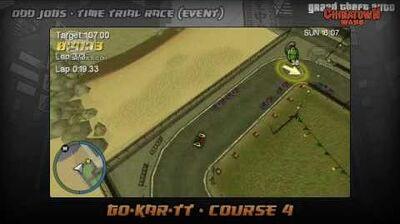 GTA Chinatown Wars - Walkthrough - Time Trial Race - Go-Kar-TT - Course 4