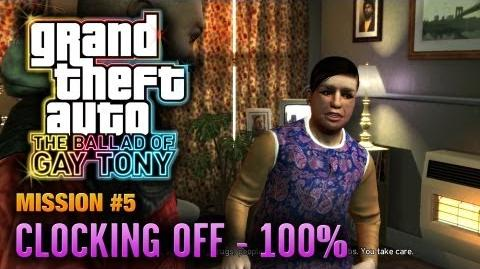 GTA The Ballad of Gay Tony - Mission 5 - Clocking Off 100% (1080p)
