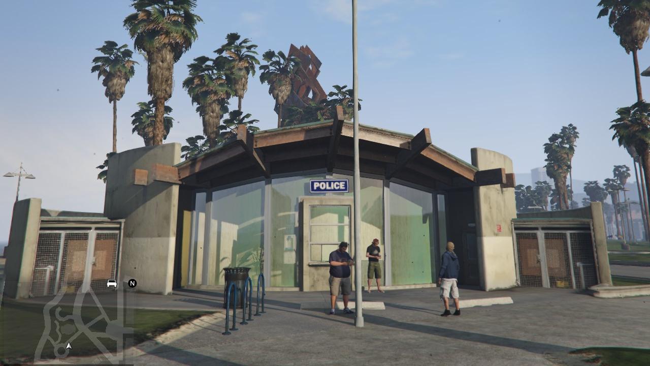 vespucci police station gta 5