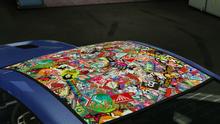 DominatorGTX-GTAO-StickerbombStrippedRoof