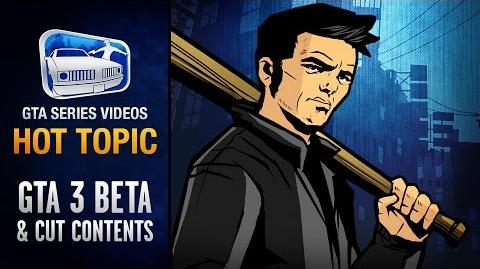 GTA III Beta Version and Removed Content