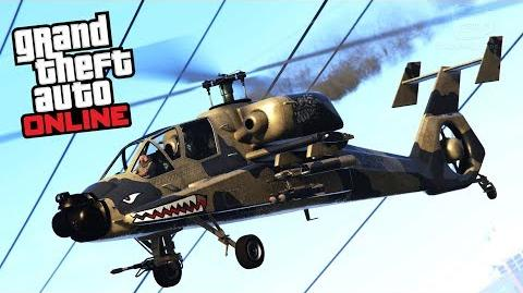 GTA Online - FH-1 Hunter -Smuggler's Run Update-