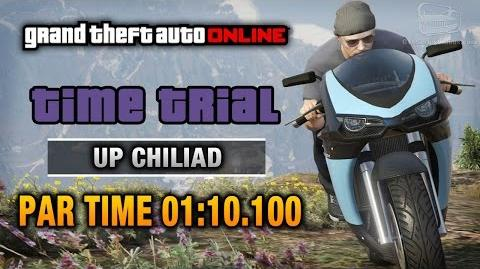 GTA Online - Time Trial 8 - Up Chiliad (Under Par Time)