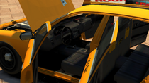 Taxi-GTAIV-Inside