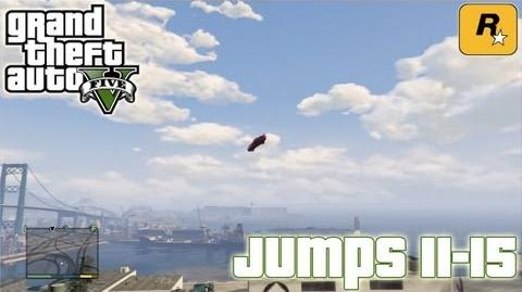 GTA5 Stunt Jumps 11-15 (Tutorial) Grand Theft Auto V PS3 Xbox 360 ᴴᴰ