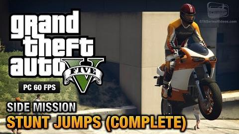 GTA 5 PC - Stunt Jumps Show Off Achievement Trophy