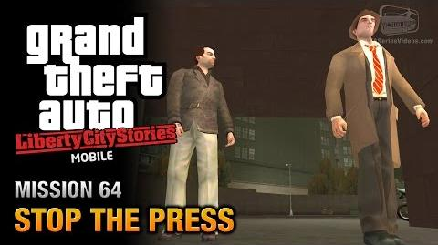 GTA Liberty City Stories Mobile - Mission 64 - Stop the Press