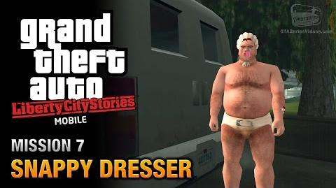 GTA Liberty City Stories Mobile - Mission 7 - Snappy Dresser