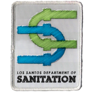 Los Santos Department of Sanitation Patch GTAV