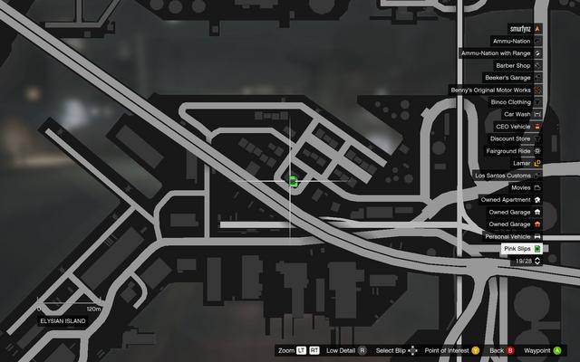 File:Vehicle Export Showroom GTAO Pinkslips Elysian Island Map.png