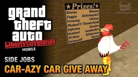 Car-azy Car Give Away