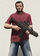 MichaelDeSanta-GTAV-SpecialCarbineMkII
