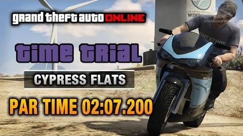 GTA Online - Time Trial 10 - Cypress Flats (Under Par Time)