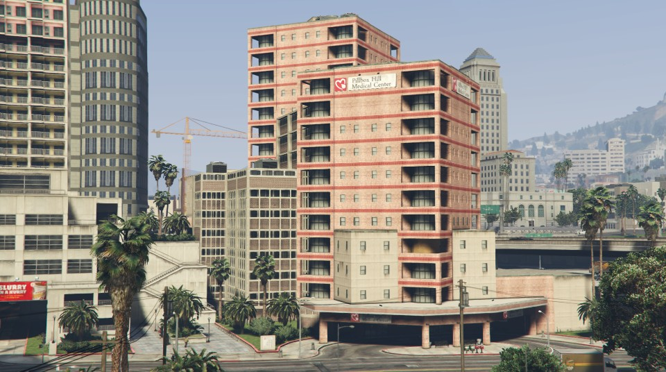 Pillbox Hill Medical Center | GTA Wiki | FANDOM powered by Wikia