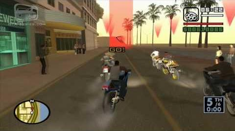 GTA San Andreas - Walkthrough - Street Race - Little Loop (HD)