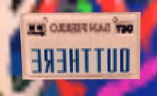 OutThere License Plate