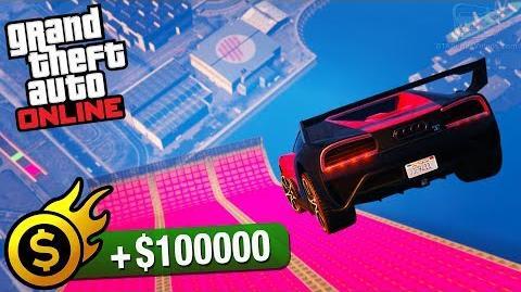 GTA Online Premium Race - Gauntlet