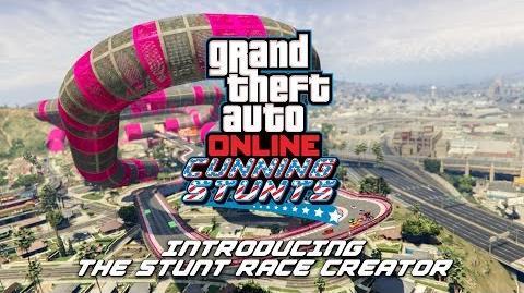 GTA Online Stunt Race Creator Trailer