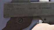 Gusenberg Sweeper GTAV Detail