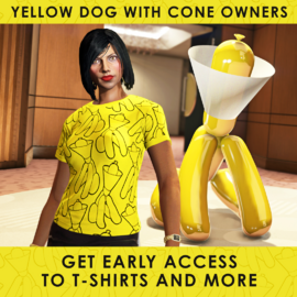 YellowDogwithConeEarlyAccessItems-GTAO-Advert