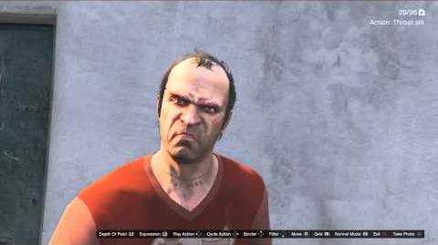 Character Actions GTAVe Trevor