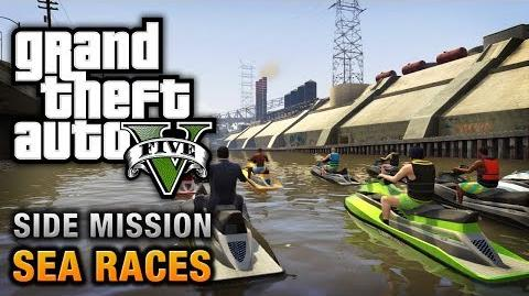 GTA 5 - Sea Races
