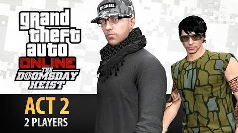 GTA Online Doomsday Heist Act 2 with 2 Players (Elite & Criminal Mastermind II)