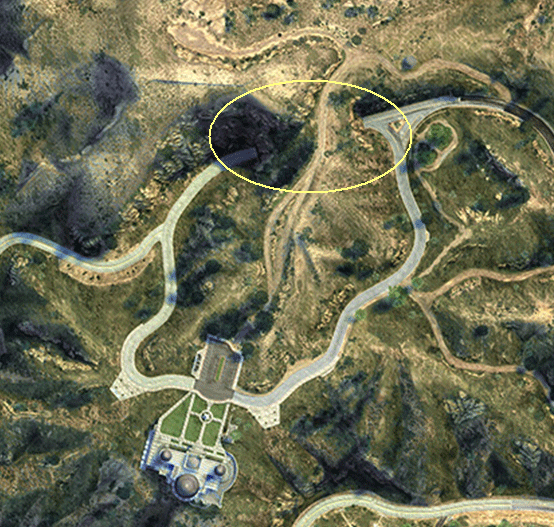 Image Galileo Observatory Tunnel GTAV Satellite Viewpng GTA - Real life satellite view