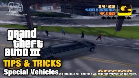 GTA III - Special Vehicles