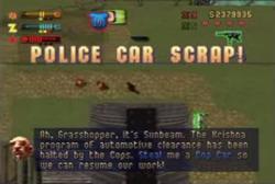 PoliceCarScrap-Mission-GTA2