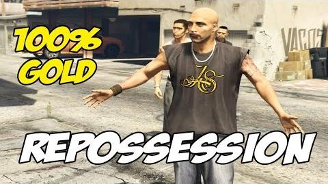 Repossession - GTA 5 100% Gold
