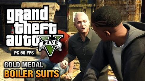GTA 5 PC - Mission 35 - Boiler Suits Gold Medal Guide - 1080p 60fps