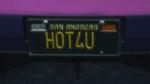 Custom Plate GTAO HOT4U